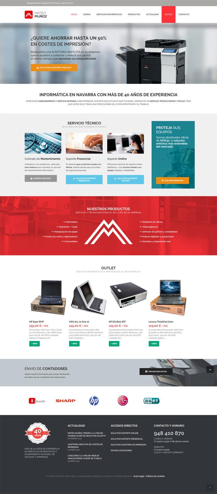 Página web Mateo Muñoz