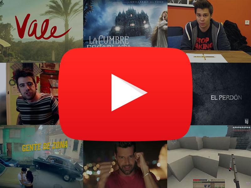 Los Vídeos Más Vistos De 2015 En YouTube