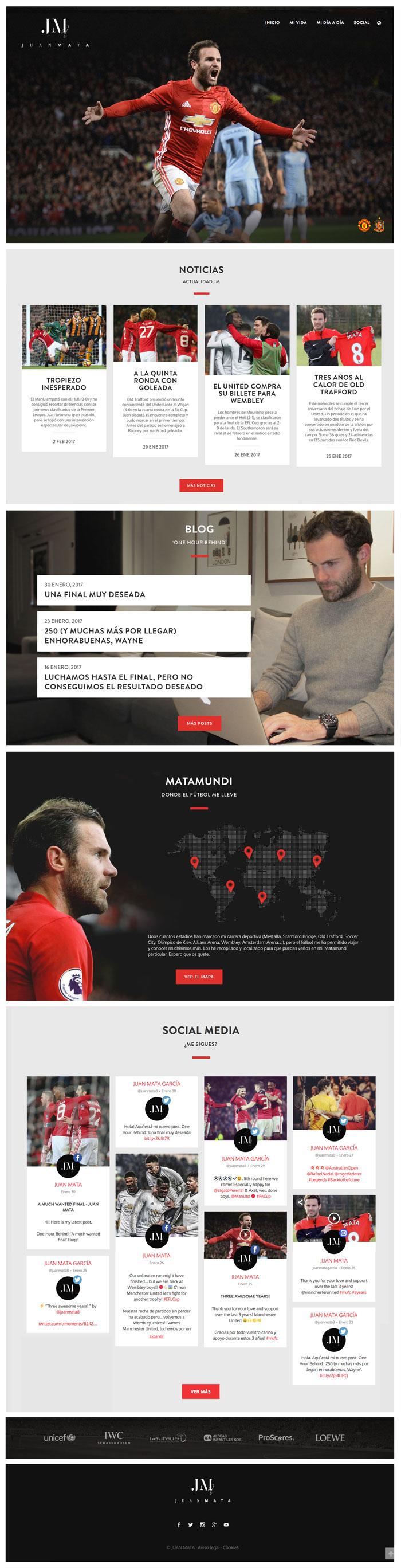 Página Web Juan Mata