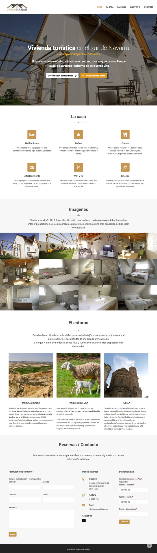 Página Web Casa Marbián