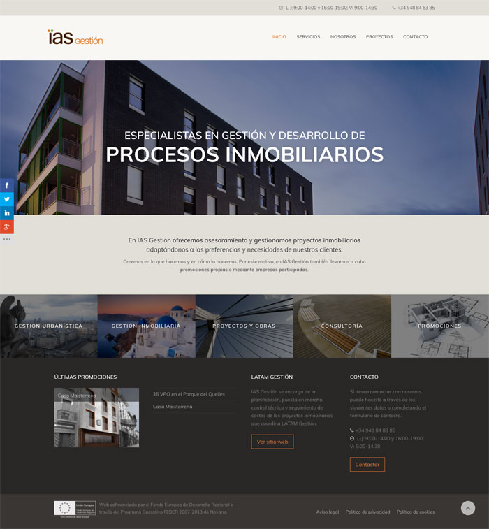 Página Web IAS Gestión