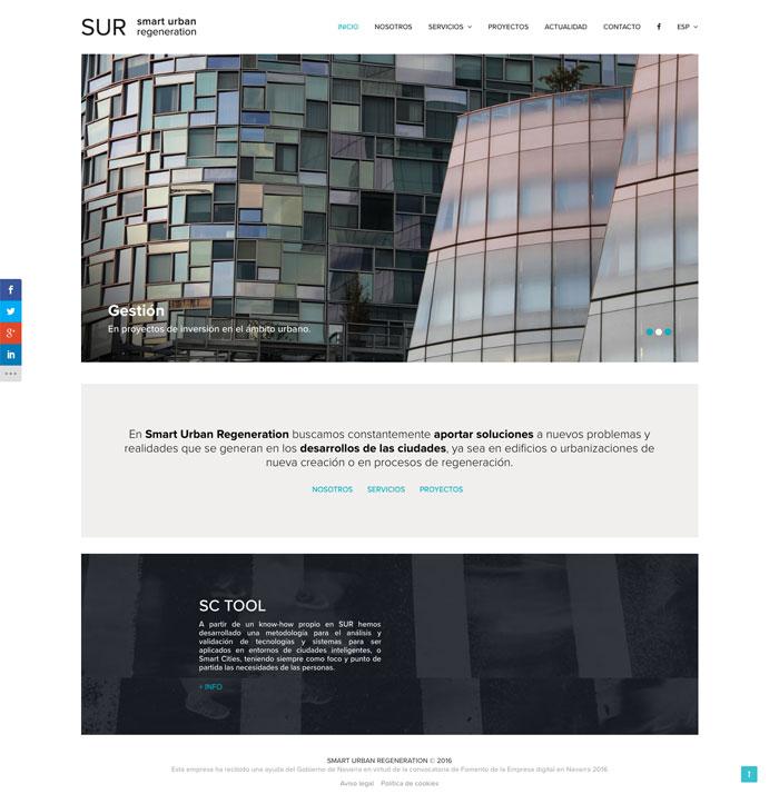 Página Web SUR