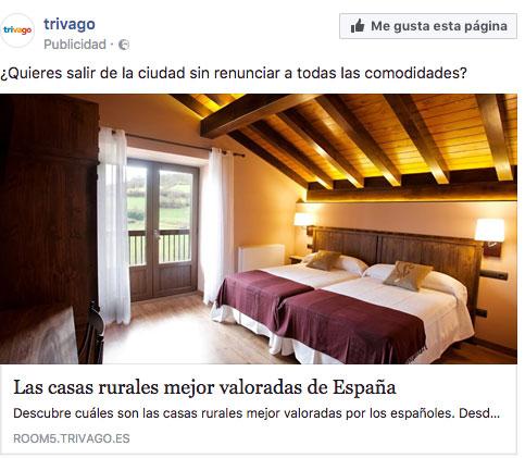 Copy Trivago Facebook